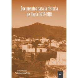 Documentos para la historia de Haría: 1633-1918