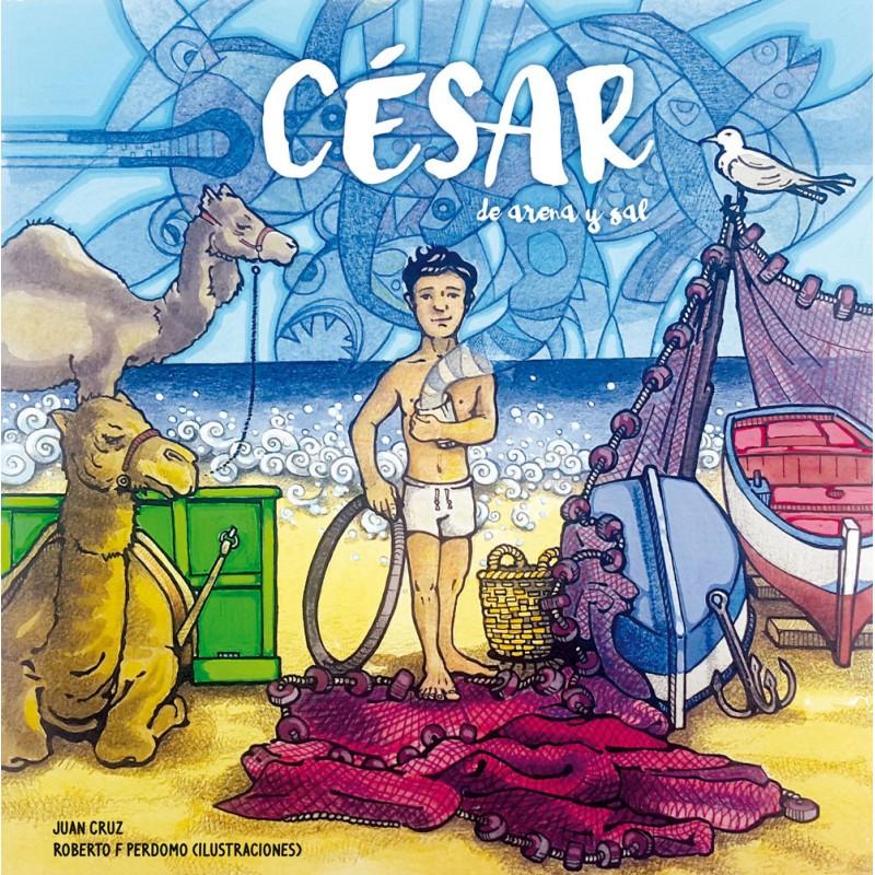 César de arena y sal